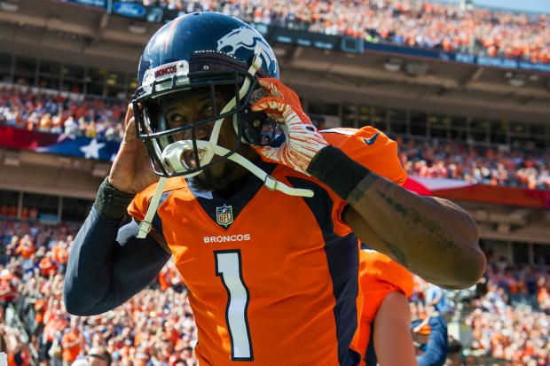 Marquette King (1) of the Denver ...