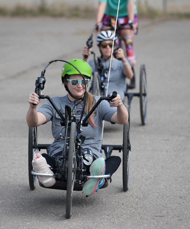 Aurora Shooting Victim, Disabled Athletes Practice For