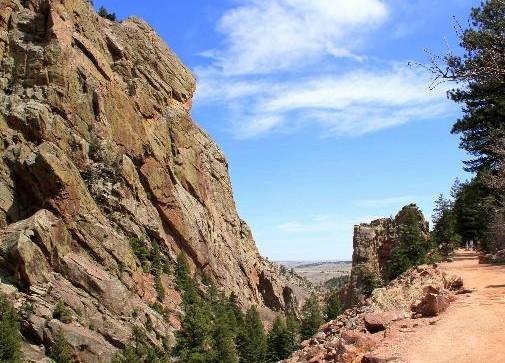 First responders rescued a fallen climber and a group of stranded hikers Saturday in Eldorado Canyon State Park in Boulder County.