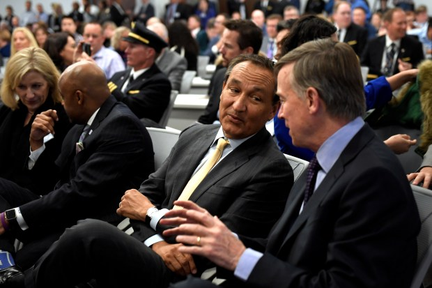 United Airlines celebrates upgrade at Flight Training Center in Denver, aims to keep growing