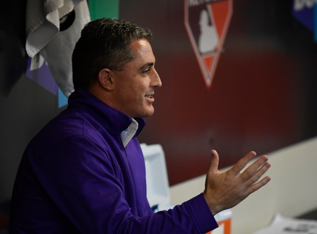 Colorado Rockies general manger Jeff Bridich ...