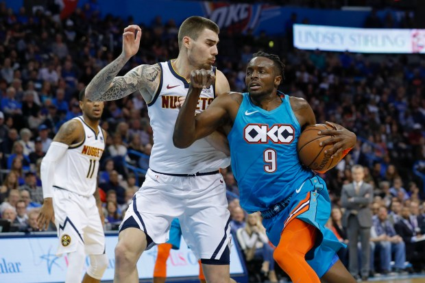 Oklahoma City Thunder forward Jerami Grant ...