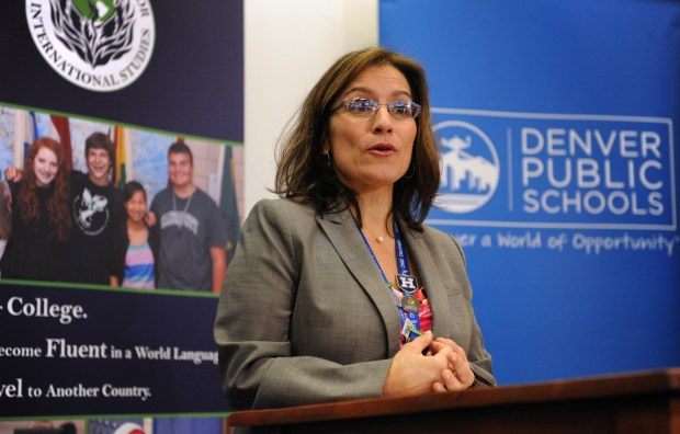Susana Cordova, acting superintendent of Denver ...