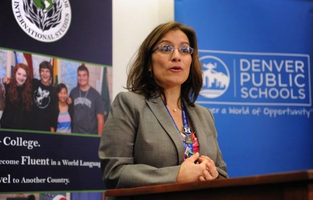 Susana Cordova, acting superintendent of Denver ...