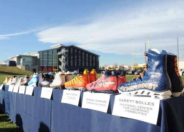 "Denver Broncos players revealed their ""My ..."