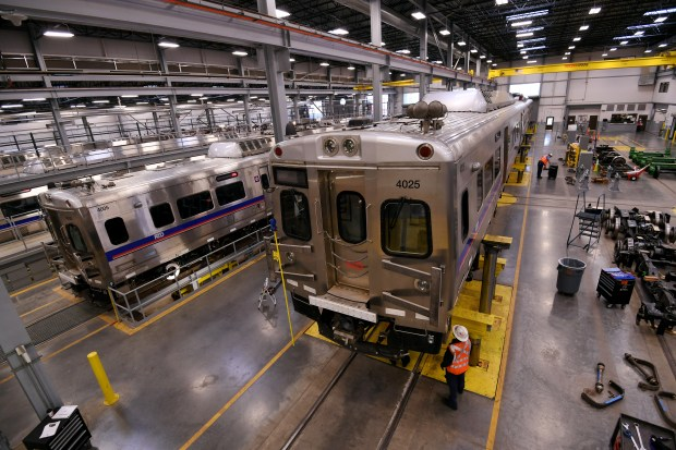 Commuter Rail Maintenance Facility sits on ...