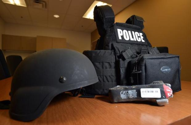 """Lafayette equips police department with """"active shooter kits"""""""