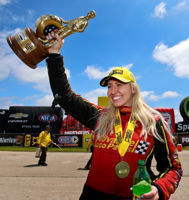 Courtney Force Ends Successful Funny Car Career