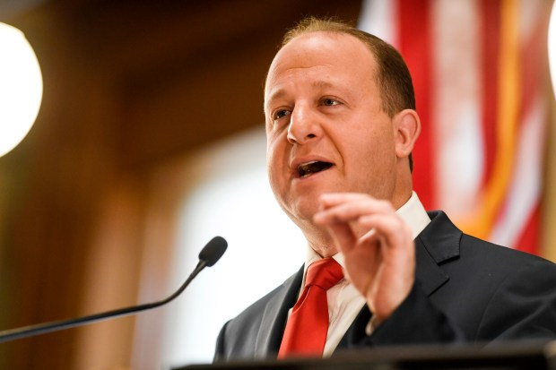 Gov. Jared Polis delivers his first ...