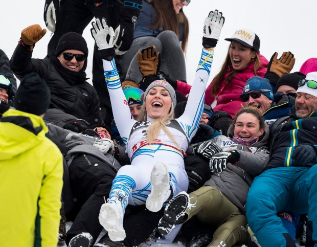 Lindsey Vonn of the United States ...