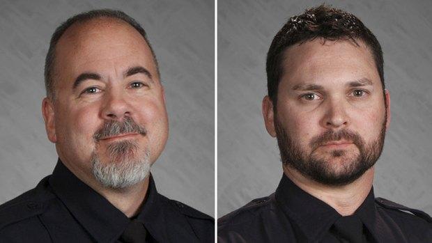 Boulder County deputies James O'Brien and Adam Lunn