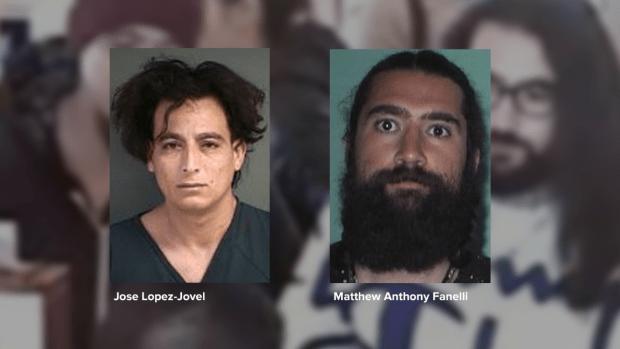 Jose Lopez-Jovel, left, and Matthew Anthony Fanelli.