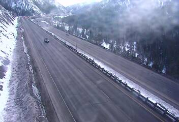 Interstate 70 east of Silverthorne on March 18, 2019