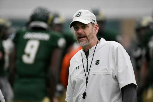 CSU head football coach Mike Bobo, ...