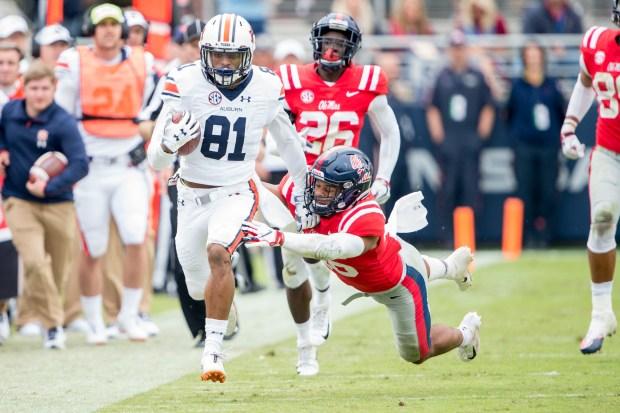 Wide receiver Darius Slayton #81 of ...