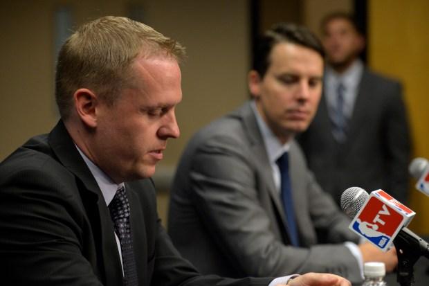 Denver Nuggets President Josh Kroenke names ...