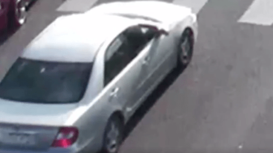A screengrab from a Medina alert issued by the Aurora Police Department for a light colored 2002-'04 Toyota Camry believed to have fatally struck a pedestrian on April 24, 2019.