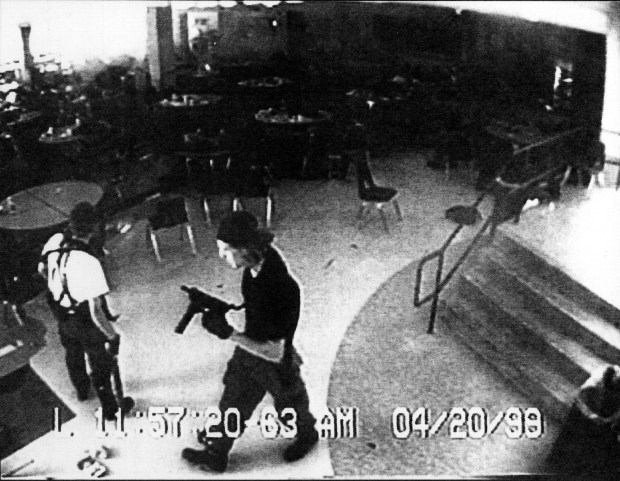 Eric Harris, left and Dylan Klebold, ...