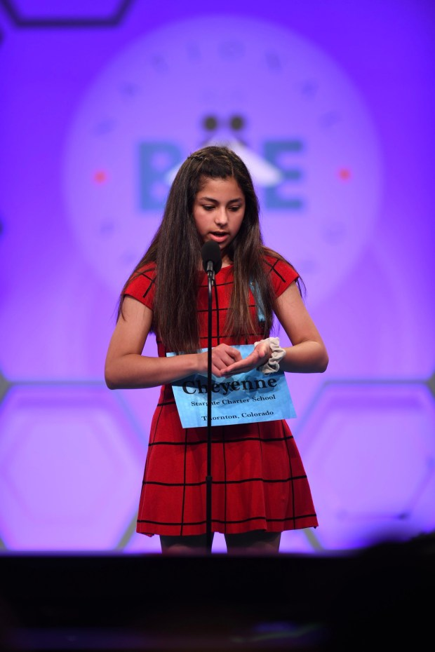 14 Colorado kids still standing after competing in Scripps National Spelling Bee's second round
