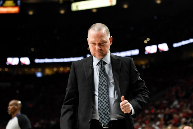 Michael Malone of the Denver Nuggets ...