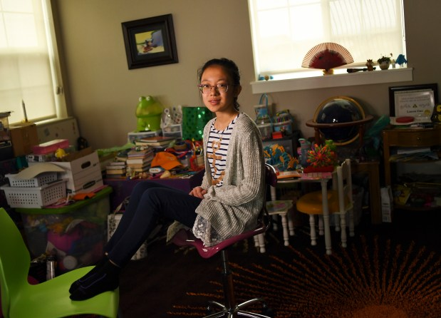 Lauren Guo, a 13-year-old at Wayne ...
