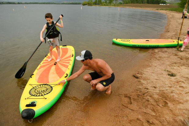 Giant paddle boards, electric bikes that can haul more than 350 pounds: the Outdoor Retailer Demo Experience had that and more