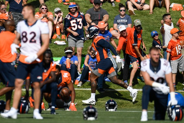 Von Miller (58) of the Denver ...