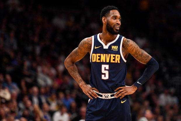 Will Barton (5) of the Denver ...