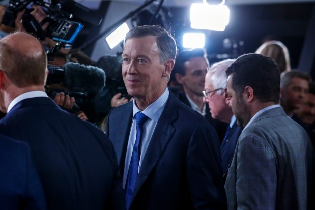 Former Colorado Gov. John Hickenlooper talks ...