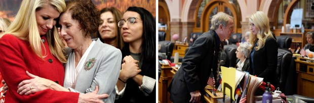 Bills and a baby: Colorado Sen. Brittany Pettersen is breaking new ground