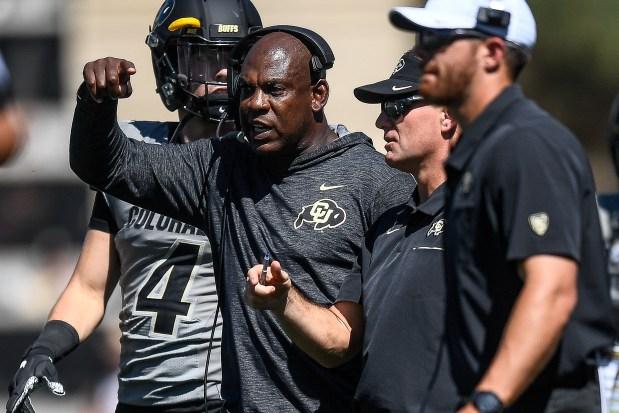 Head coach Mel Tucker of the ...