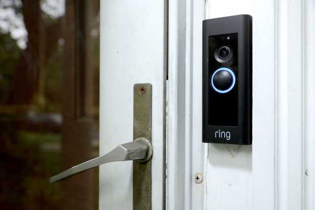 A doorbell device with a built-in ...