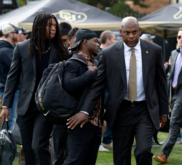 Colorado Head Football Coach, Mel Tucker, ...