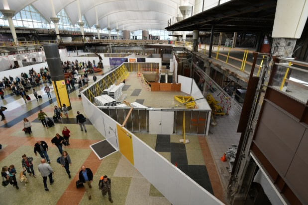 Denver airport's breakup with contractors is dragging on