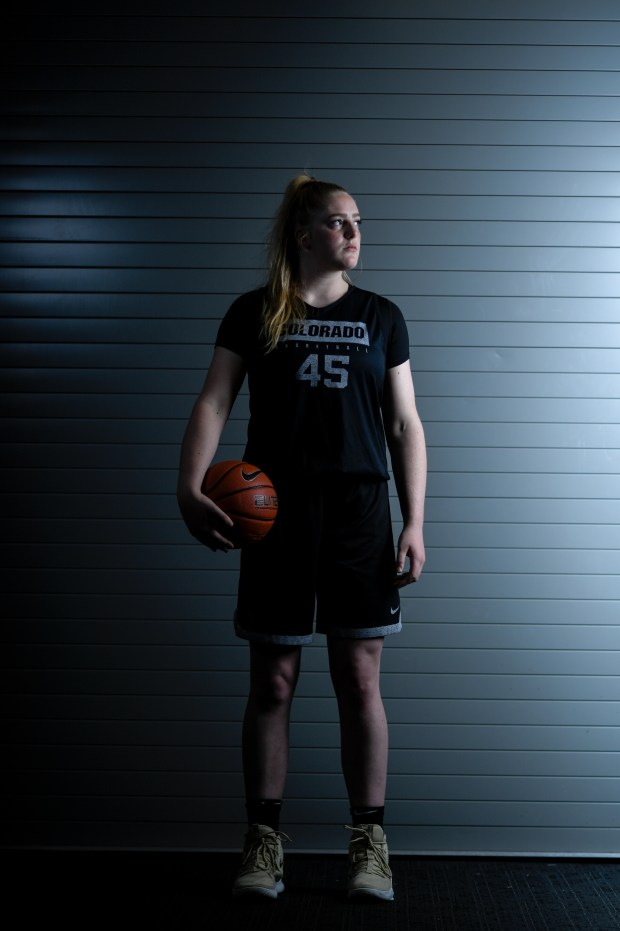 CU Buffaloes basketball player Charlotte Whittaker ...