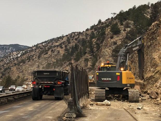 I-70 travelers should prepare for traffic delays for rockfall mitigation