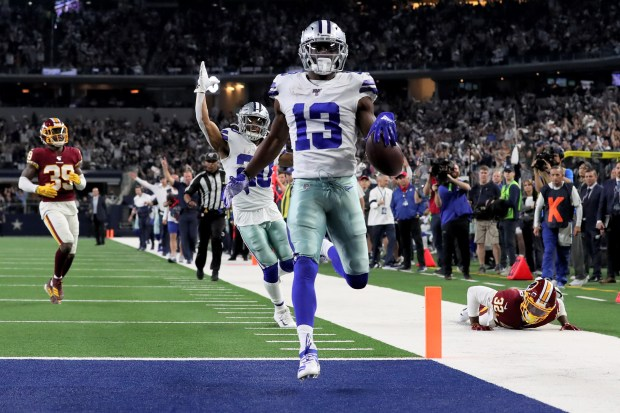 Michael Gallup #13 of the Dallas ...