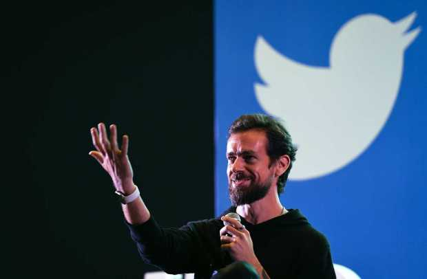 Twitter CEO and co-founder Jack Dorsey ...