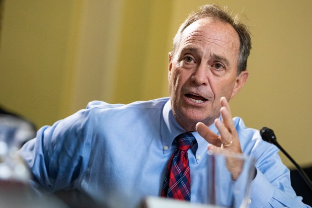 U.S. Rep. Ed Perlmutter (D-CO) argues ...