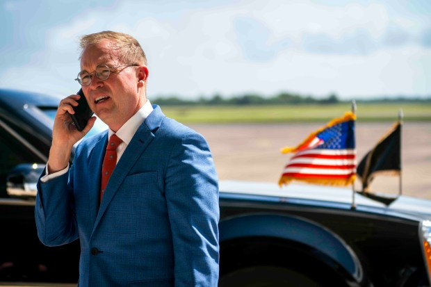 FILE -- Mick Mulvaney, the acting ...