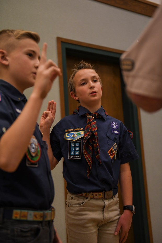 They've been intertwined for more than 100 years. Now the Boy Scouts and Latter-day Saints prepare for life apart.
