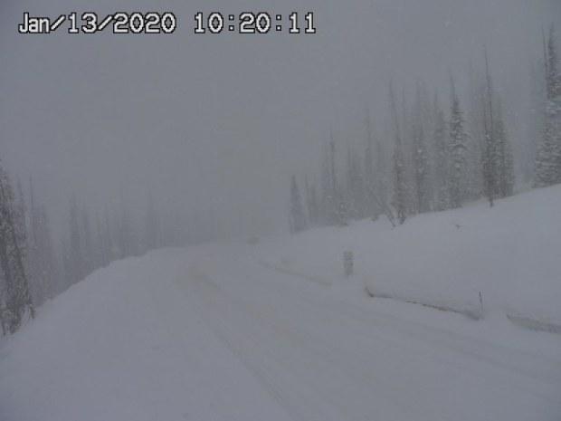 Colorado snow totals for Jan. 12-13, 2020