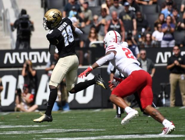 Colorado Buffaloes wide receiver Tony Brown ...