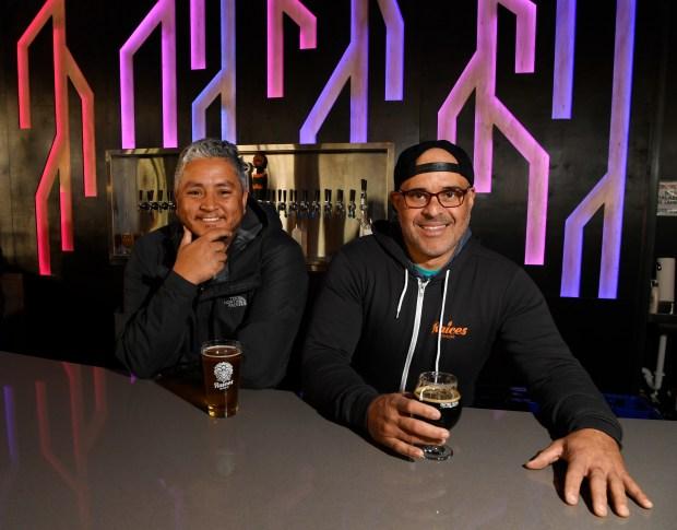 Raíces Brewing Company owners Jose Beteta, ...