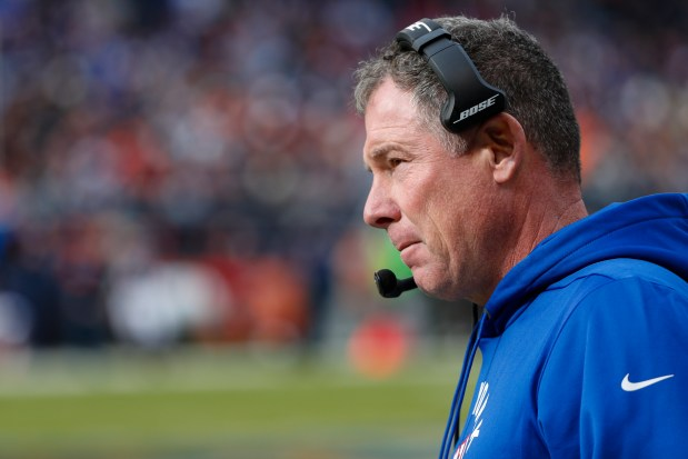 New York Giants head coach Pat ...
