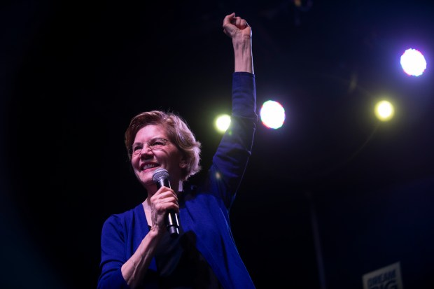 Democratic presidential candidate Sen. Elizabeth Warren ...