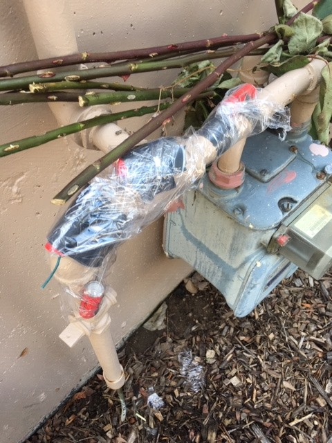 Weld County sheriff's deputies searching for suspect who taped firecrackers to live gas meter