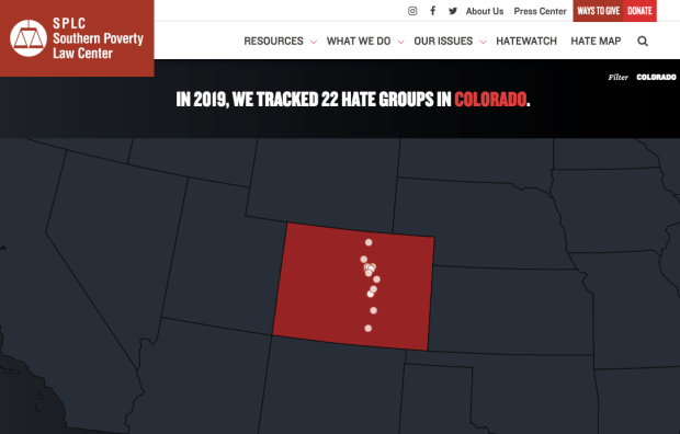 Southern Poverty Law Center says number of anti-LGBTQ groups are growing in U.S., with four in Colorado