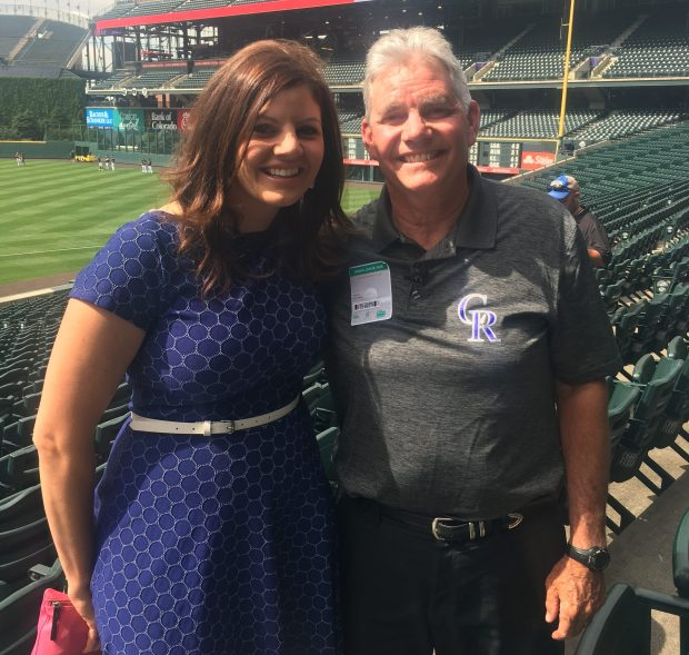 AT&T SportsNet's Jenny Cavnar and her ...