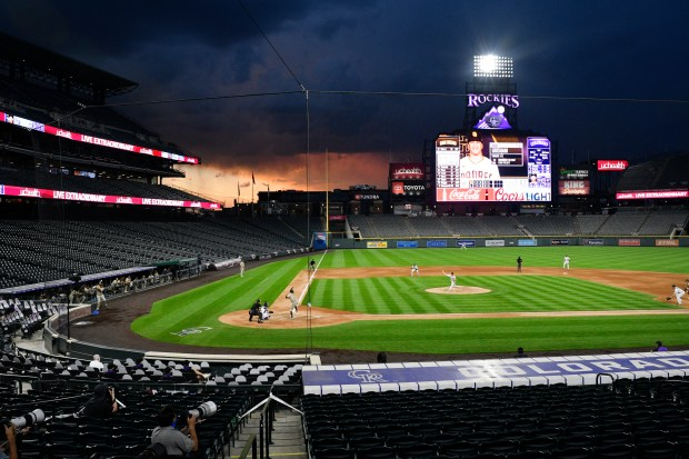Colorado Rockies home opener against the ...